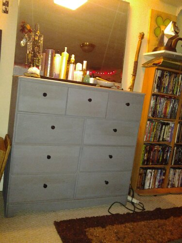 dresser from cell phone