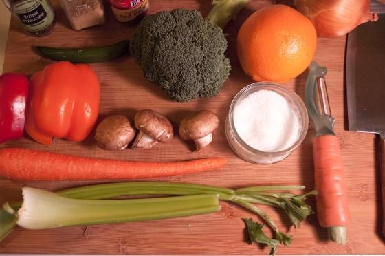 Arial Veggies