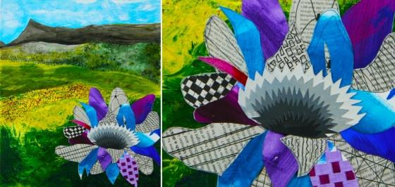 FlowerinFieldDiptych