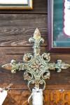 guilded crosses